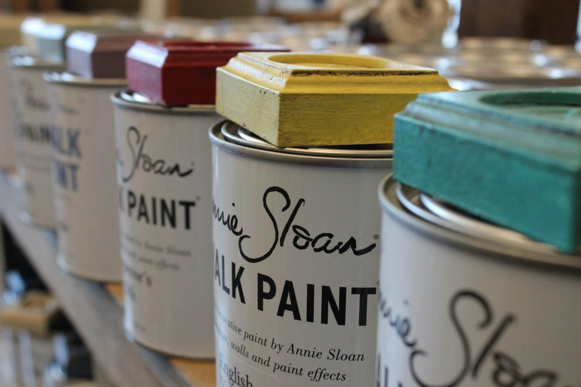 We have Annie Sloan Decorative Paint