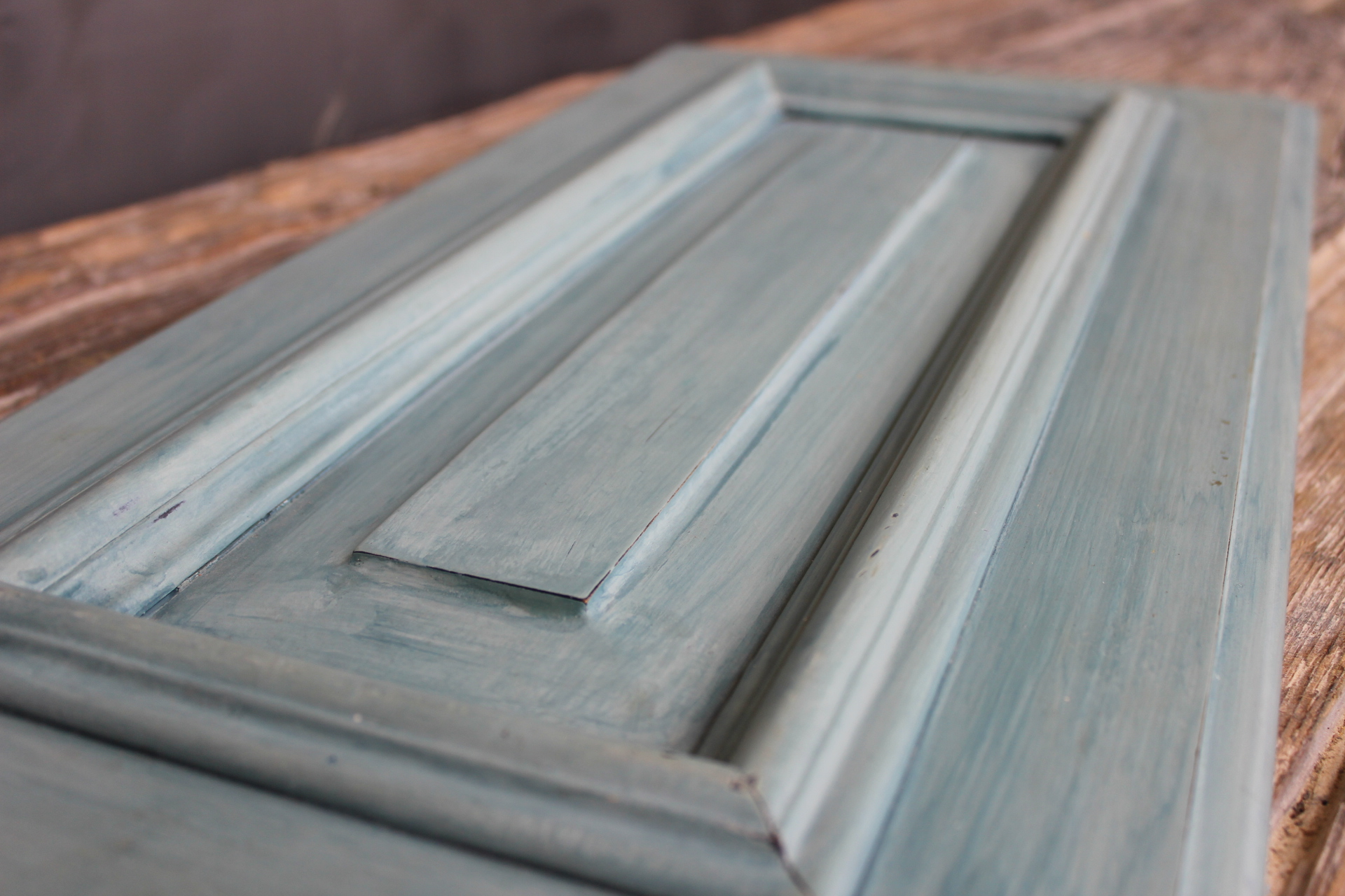 Color Wash Duck Egg and Aubusson Chalk Paint