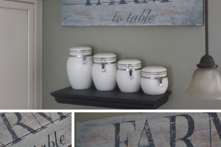 Quick & Easy Farmhouse Sign